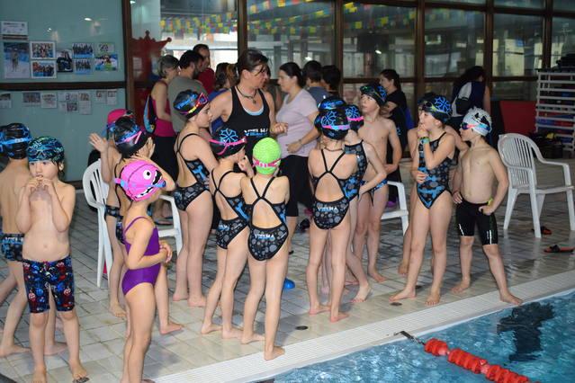 Lèu 100 nedadors ena 2au Fasa Intercomarcau de Natacion Val d'Aran