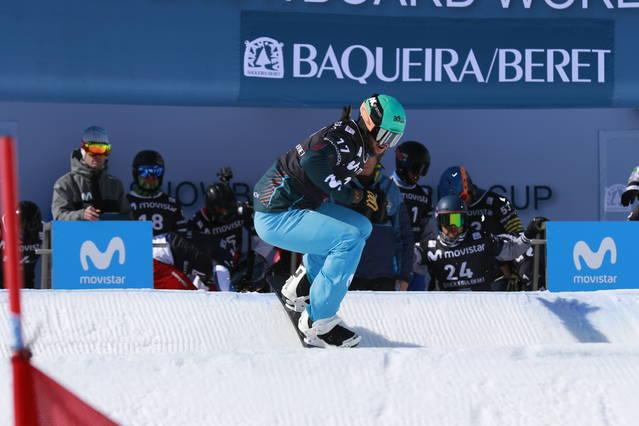 Lucas Eguibar guanhe era classificatòria dera Copa deth Mon de snowboard cross FIS en Baqueira Beret