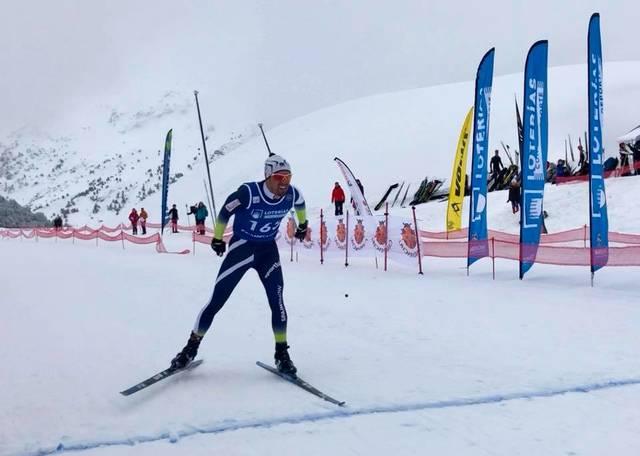 Marta Cester campiona absoluta d'Espanha en Candanchú