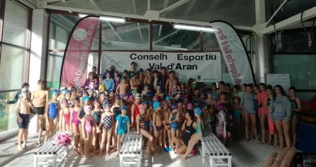 Mès de 120 nedadorsena Fasa Comarcau de Natacion Val d'Aran