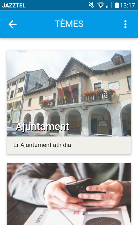 Naua App de Participacion Ciutadana der Ajuntament de Vielha e Mijaran