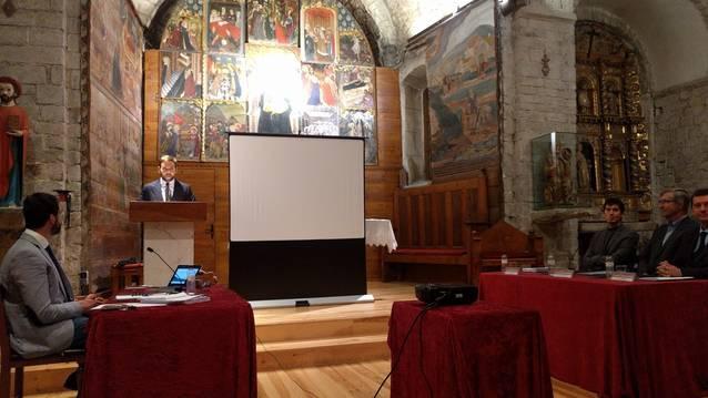 Presentacion dera tèsi sus es glèises deth prumèr romanic dera Val d'Aran