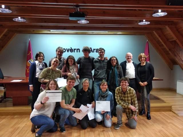 Prumèrs educadors mediambientaus titoladi ena Val d'Aran