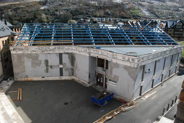 Reforma dera Sala Polivalenta de Vielha tà convertir-la en auditòri