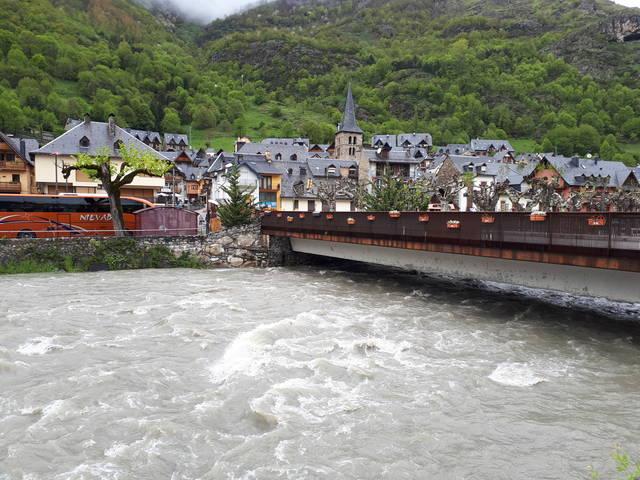 Risc d'inondacions peth aument deth cabau der arriu Garona