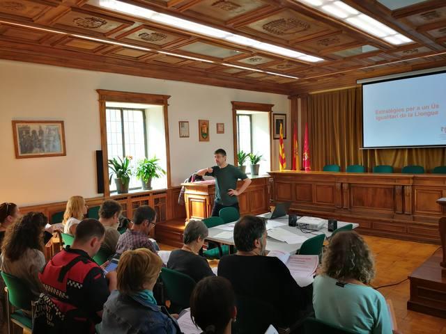 Session sus eth lenguatge non sexiste as trabalhadors der Ajuntament de Vielha e Mijaran