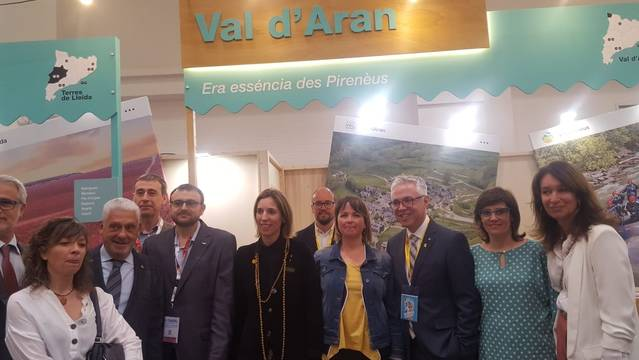 Torisme Val d'Aran participe en Salon B-Travel