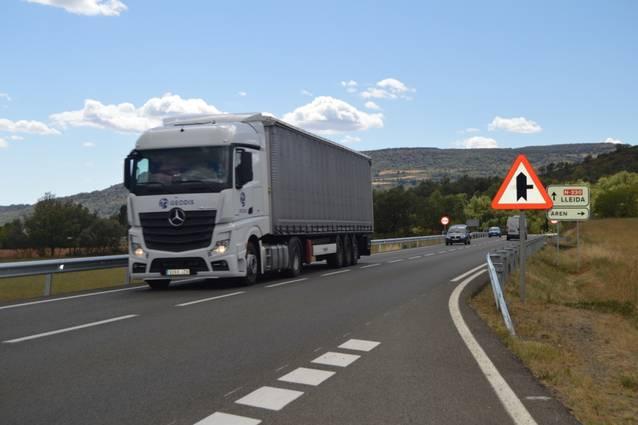 Un accident talhe er accès ara Val d'Aran pendent ores