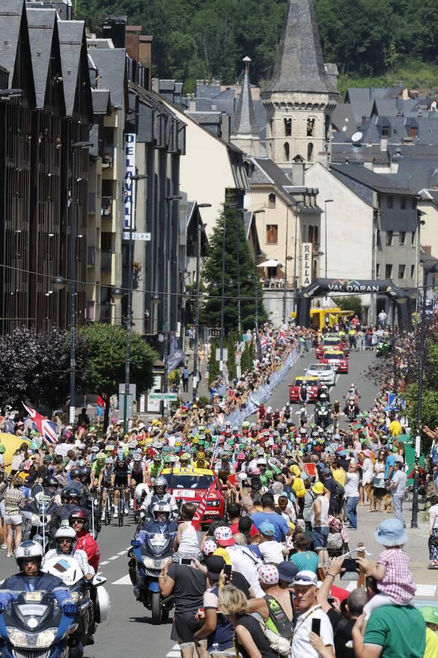 Vielha Val d'Aran artenh eth reconeishement deth Tour de França peth trabalh ena promocion dera practica deth ciclisme