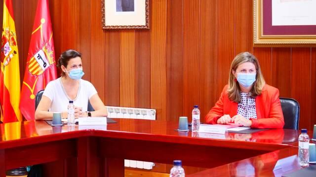 Visita dera directora generau de Torisme dera Generalitat ath Conselh Generau d'Aran