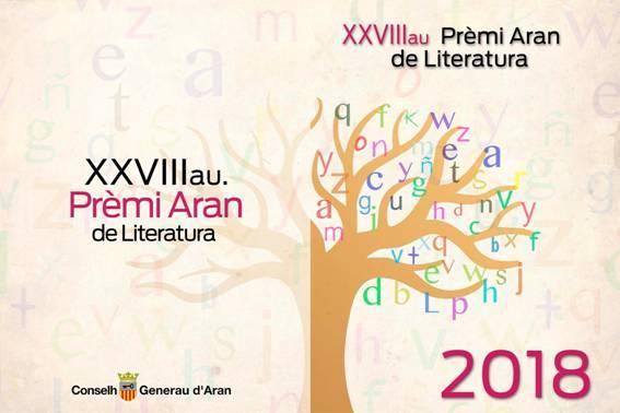 XXVIIIau edicion deth Prèmi Aran de Literatura