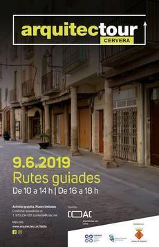 Aquest diumenge se celebra l'Arquitectour Cervera amb rutes guiades per habitatges del centre històric i visita a la Farinera