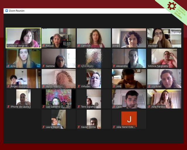 Arranca el Curs de Monitor/a de Lleure de l'Oficina Jove de la Segarra de forma virtual i amb 19 participants