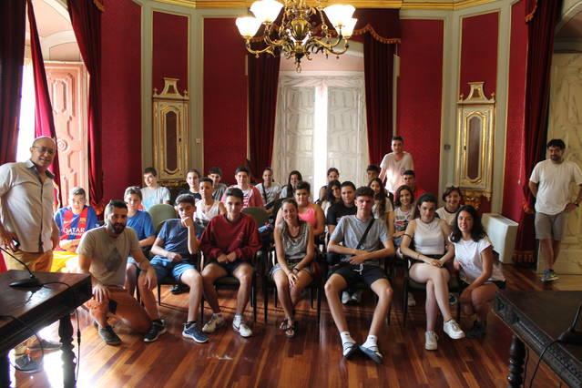 Camp de treball a Cervera amb 24 joves de tot l'Estat