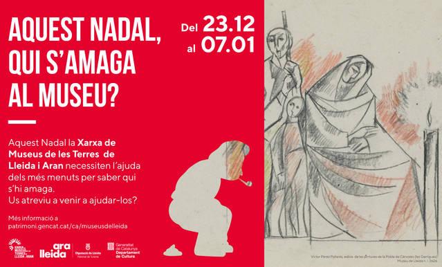 Campanya de la Xarxa de Museus de les Terres de Lleida i Aran per atreure públic familiar durant el Nadal