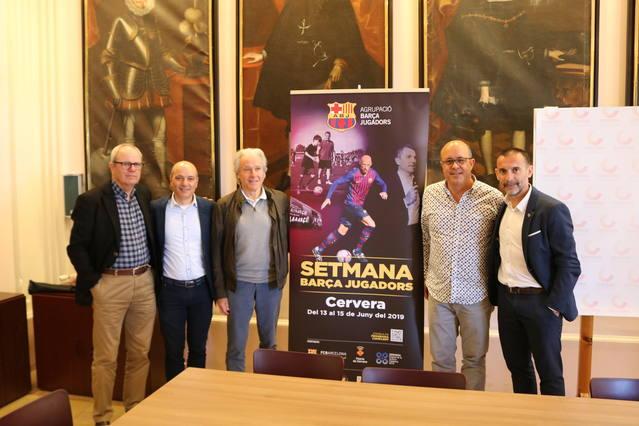 Cervera acollirà la Setmana Barça Jugadors del 13 al 15 de juny