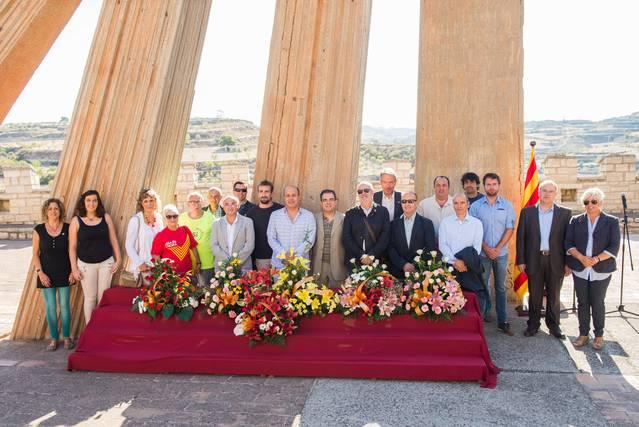 Cervera commemora la Diada Nacional de Catalunya