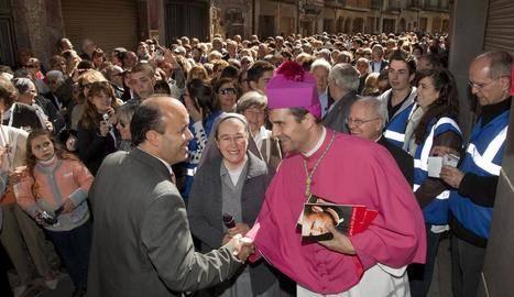 Cervera no farà la recepció del bisbe de Solsona per les festes del Santíssim Misteri