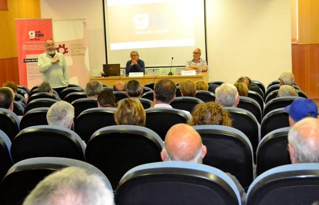 Cervera va acollir una de les sessions participatives del 8è Congrés Nacional de la Gent Gran