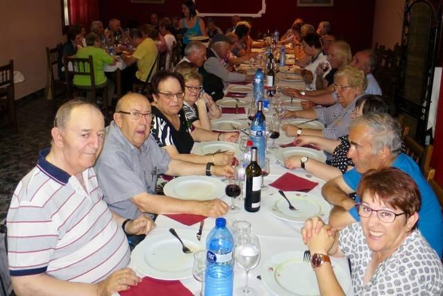 Dinar d'estiu de l'Associació de la Gent Gran de Torrefeta i Florejacs