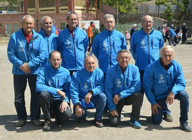 El 25è aniversari del Club de Bitlles Palou s'acompanya d'una temporada fantàstica