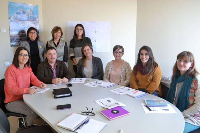 Visita del C.Comarcal de la Noguera per conèixer el Servei Socioeducatiu Itinerant a la comarca