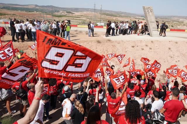 El circuit de Motorland inaugura la corva Márquez