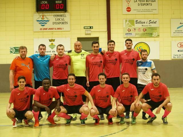 El Club de Futbol Sala Sedó, campió