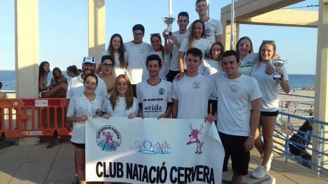 El CN Cervera, campió català