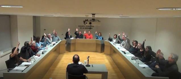 El Consell Comarcal aprova la moció per a la millora de la seguretat viària i la sinistralitat a l'autovia A-2