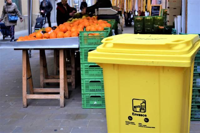 El Consell Comarcal de la Segarra implanta la recollida selectiva als mercats de la comarca