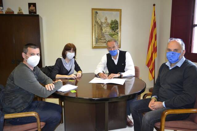 Nou conveni del Consell Comarcal de la Segarra amb ASPID per assessorar els emprenedors