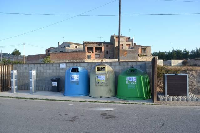 El Consell Comarcal engega a Vergós de Cervera un nou model de recollida selectiva