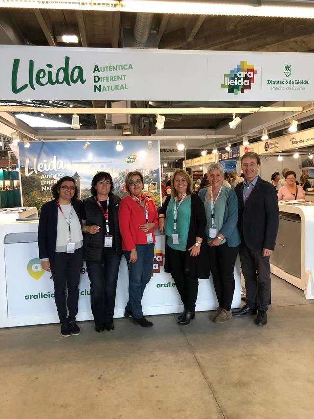 El Consell Comarcal promociona l'oferta turística de la Segarra en la 58a Fira de Mostres de Girona
