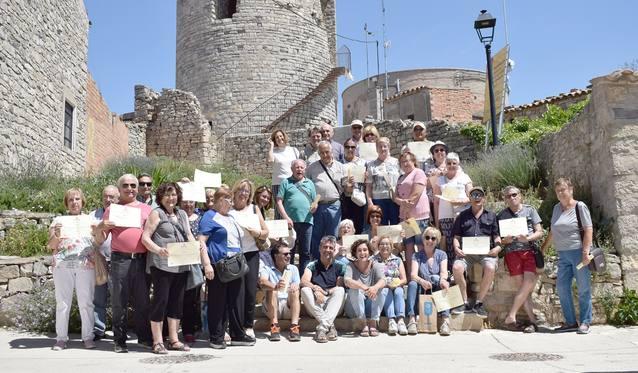El Punt Òmnia del Consell Comarcal finalitza el curs amb una sortida a l'Ametlla de Segarra i al Celler Comalats