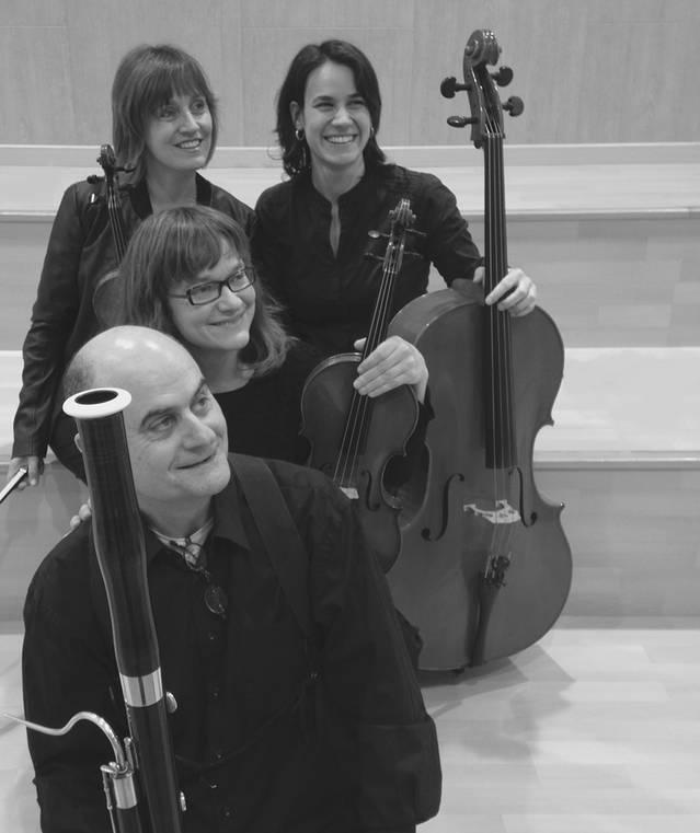 El Quartet Q16 porta la música de cambra a Biosca