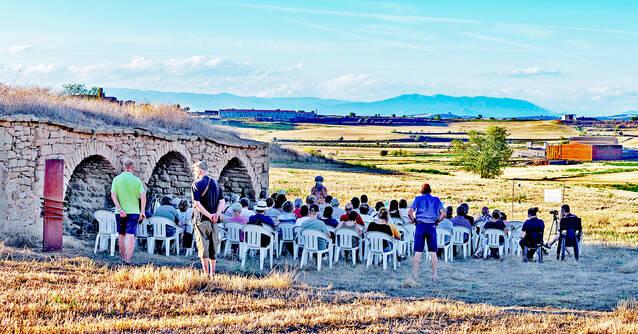 Els Amics de l'Arquitectura Popular celebren 20 anys a la Pleta de Mont-roig