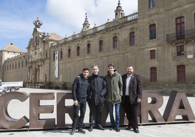 """Els germans Márquez participen en la campanya """"MOTURISME ARA LLEIDA"""""""