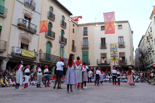 Els nens i les nenes de Cervera són els protagonistes de la Festa Major Petita