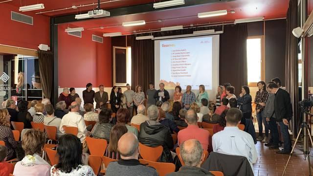 Esquerra Guissona presenta la candidatura per a les eleccions municipals del mes de maig
