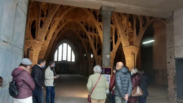 Èxit de les visites guiades al Sindicat de Sant Guim