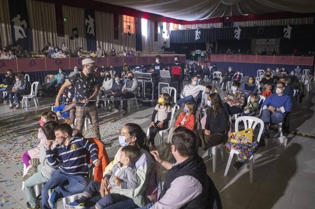 Èxit de l'espectacle familiar de Xiula a Sant Ramon