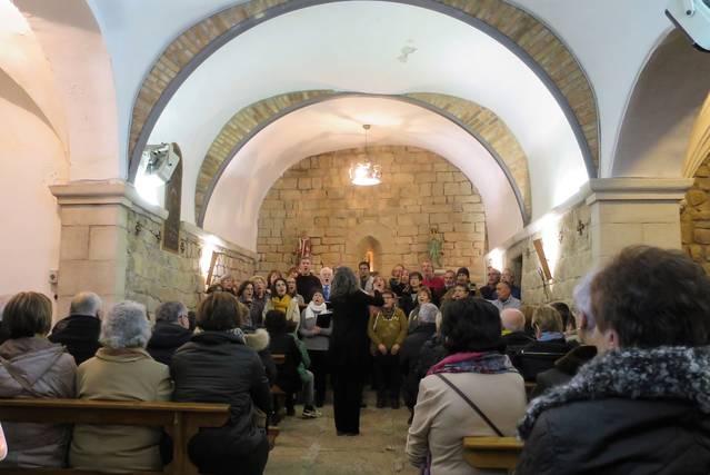 Èxit de públic al concert de la Coral Doll de Veus de Guissona a Torrefeta i Florejacs