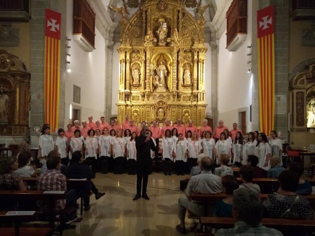 Èxit del concert de la Coral Finisterra de Buenos Aires a Sant Ramon