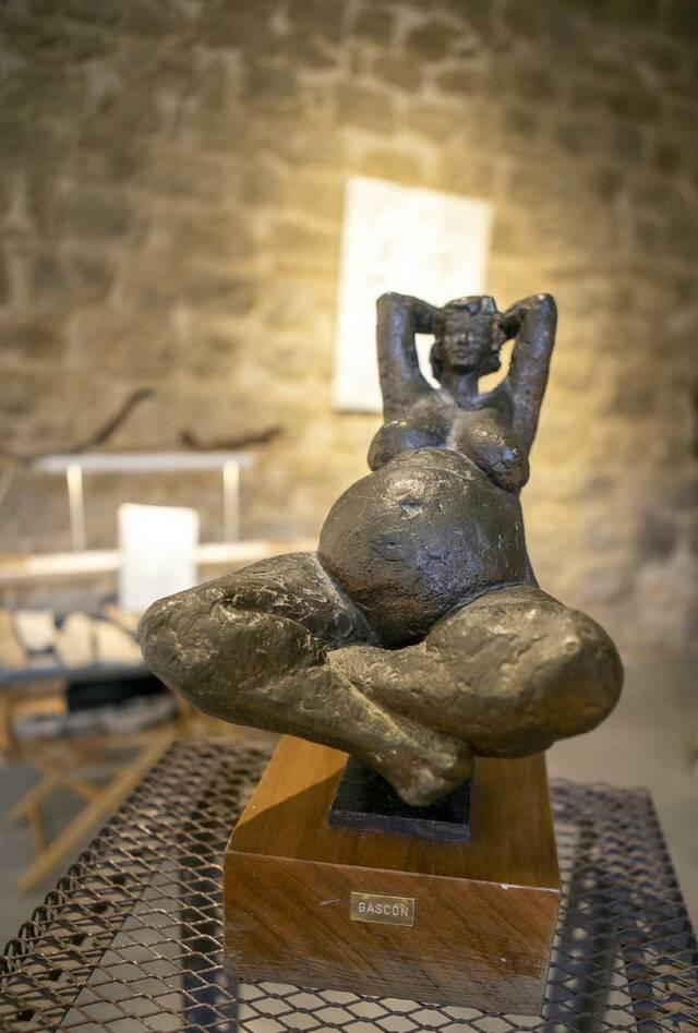 Exposició sobre el part al castell de Concabella