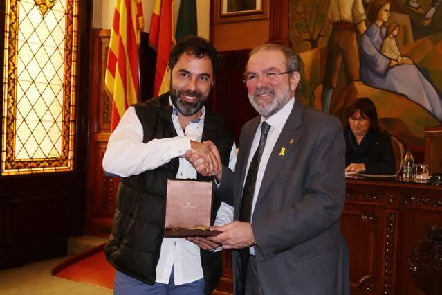 Francesc Sabanés pren possessió com a nou diputat provincial