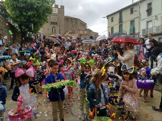 Guissona celebra la Festa de l'Enramada
