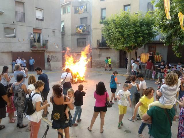 Guissona celebra la tradicional festa de Sant Joan a Capdevila