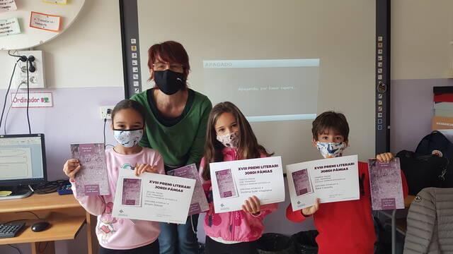 Guissona entrega els premis de poesia infantil i juvenil Jordi Pàmias