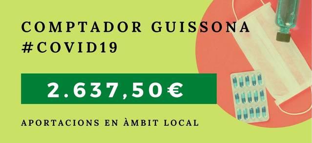 Guissona obre un compte corrent per pal·liar els efectes de la Covid-19 a la vila